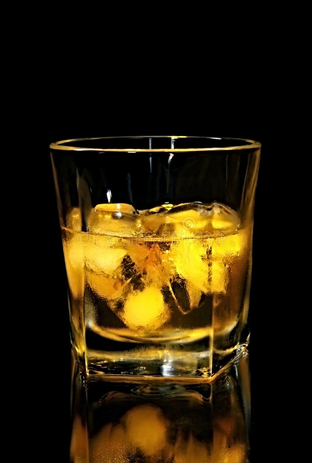 Download Scotch on the Rocks stock photo. Image of bourbon, food - 3850044