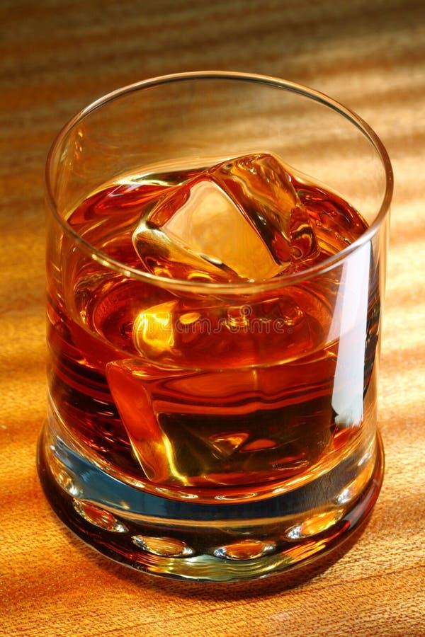 Scotch whisky on a table stock photos