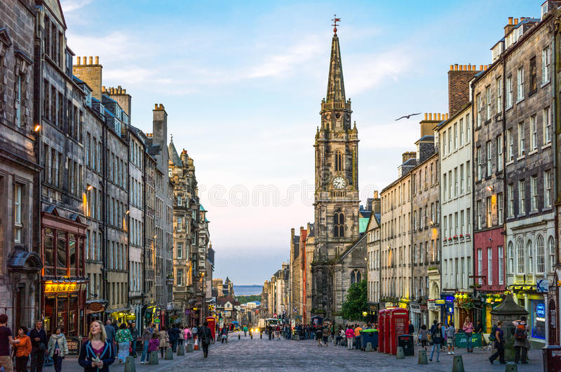 scotland fotografia stock