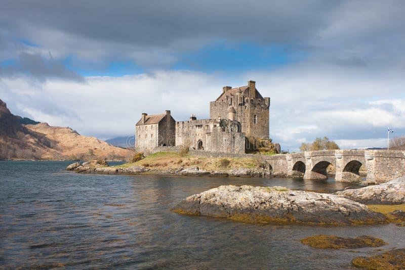 Scotland: Castelo de Eilean Donan foto de stock