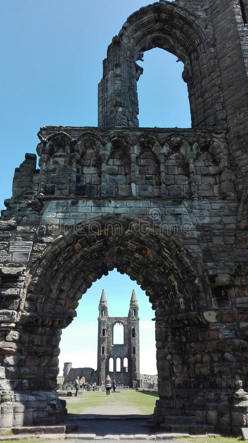 Scotland church stock image