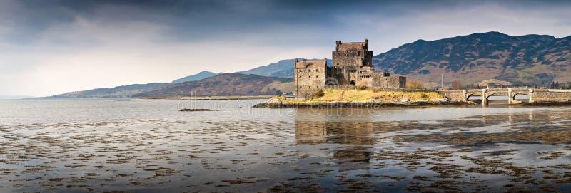 Scotland Eilean Donan Castle Highlands royalty free stock photography