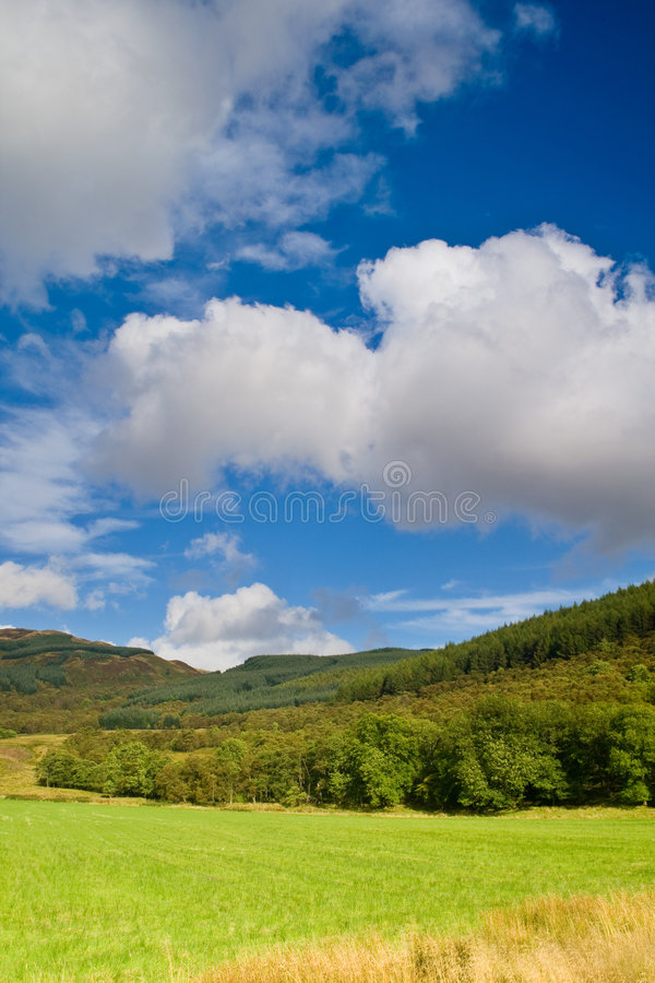 Download Scotland landscape stock photo. Image of long, mountain - 3846004