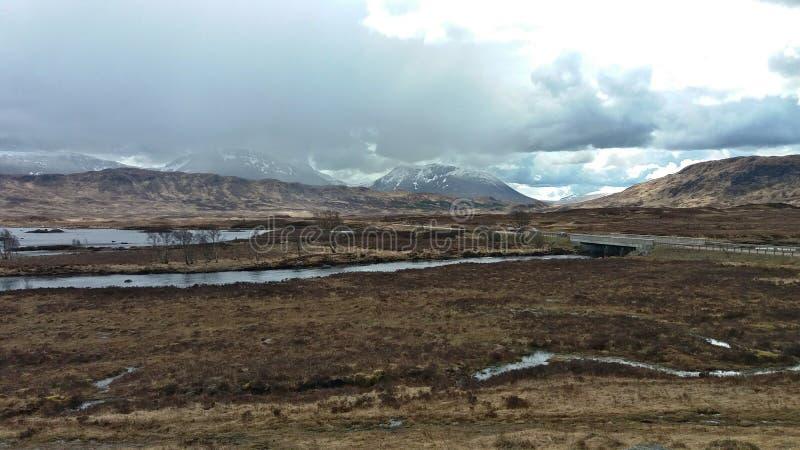Scotland& x27 ; montagnes de s photo stock