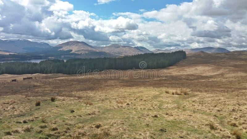 Scotland& x27 ; montagnes de s image libre de droits