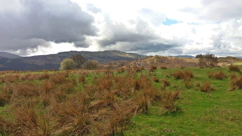 Scotland& x27 ; montagnes de s photos libres de droits