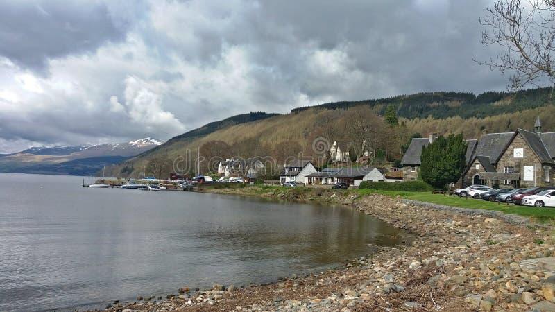 Scotland& x27 ; montagnes de s images libres de droits