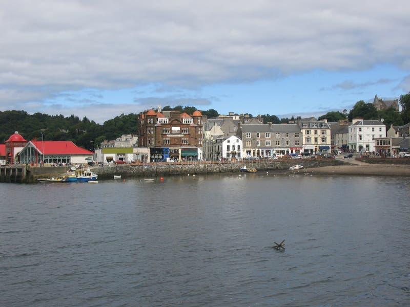 Scotland oban miasta zdjęcie royalty free