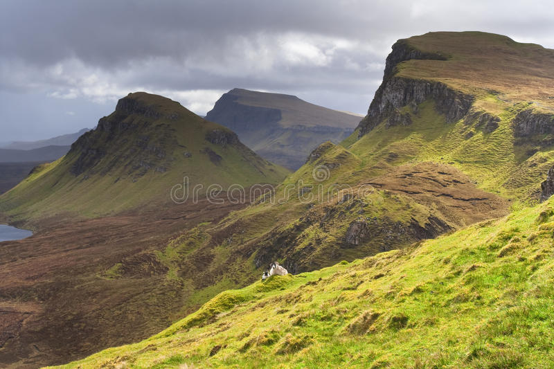Download Scotland-The Quirang On Isle Of Skye Stock Photo - Image: 13566640