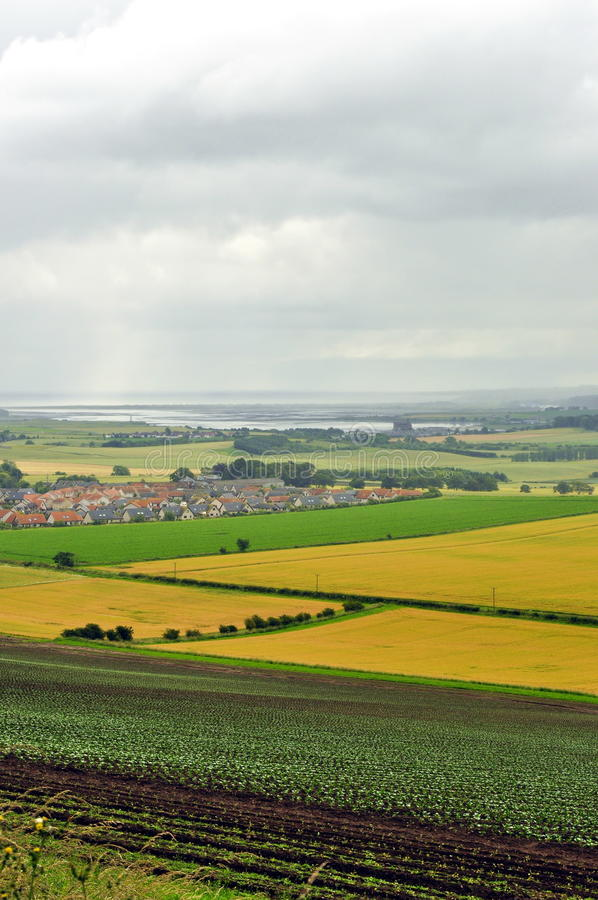 Scotland village landscape