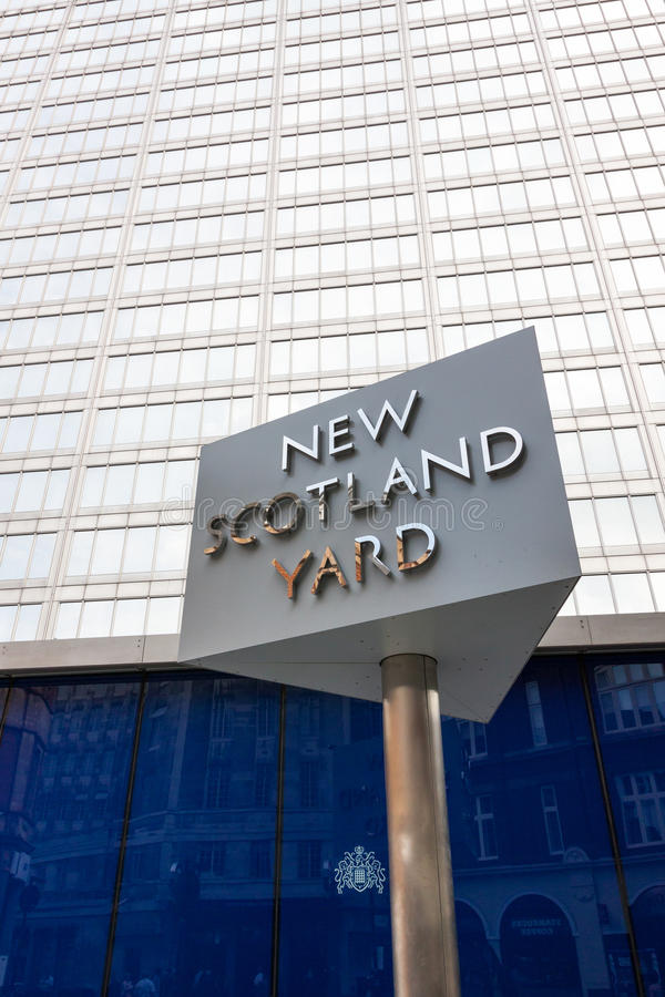 Scotland Yard fotografia stock