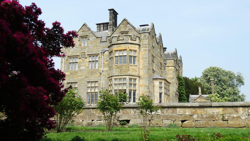 Scotney castle house royalty free stock photography
