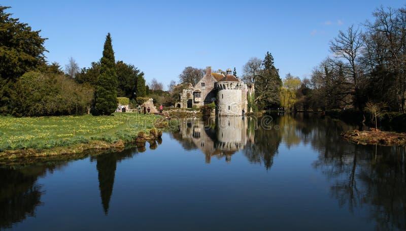 Scotney Castle Kent England stock photo