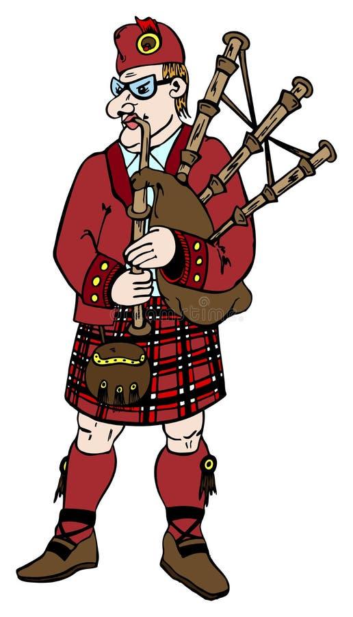 Scotsman royalty free stock photos