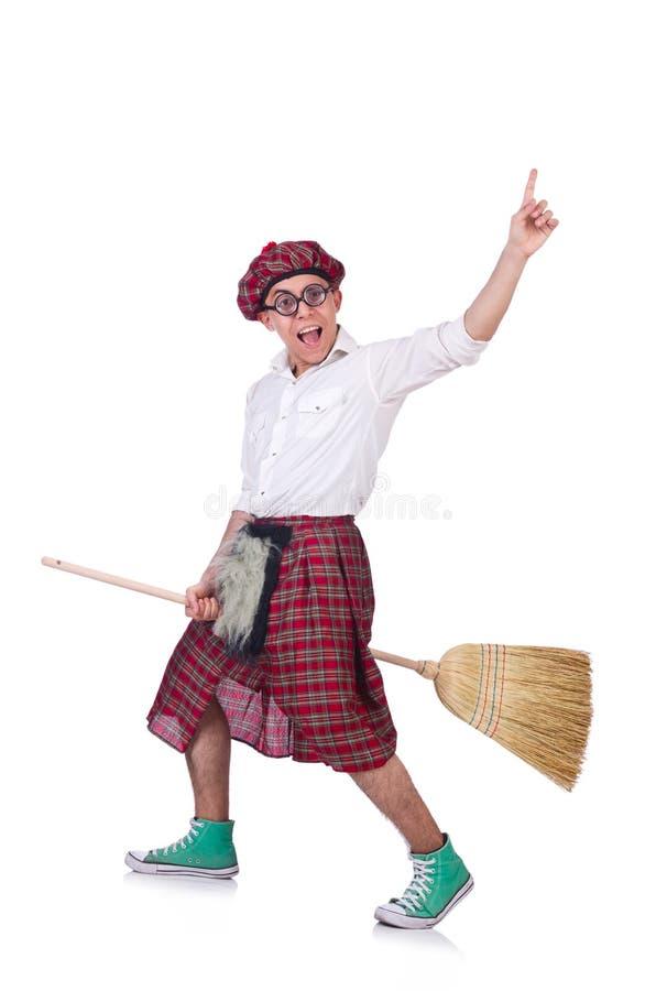 Scotsman divertido foto de archivo