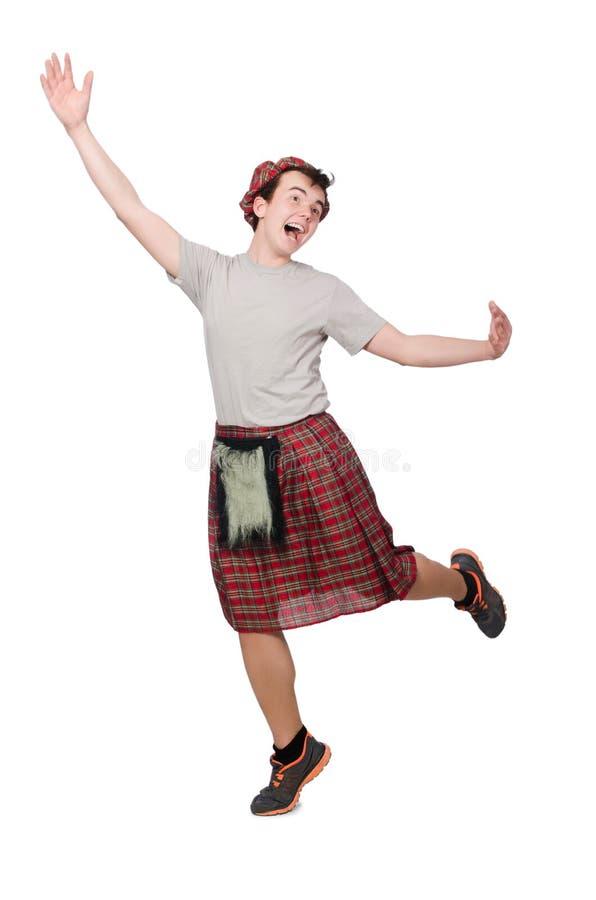 Download Scotsman divertido aislado imagen de archivo. Imagen de hombre - 41914205