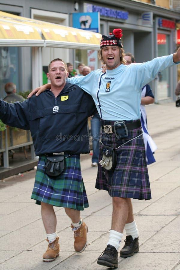 Scotsmen fotografia stock