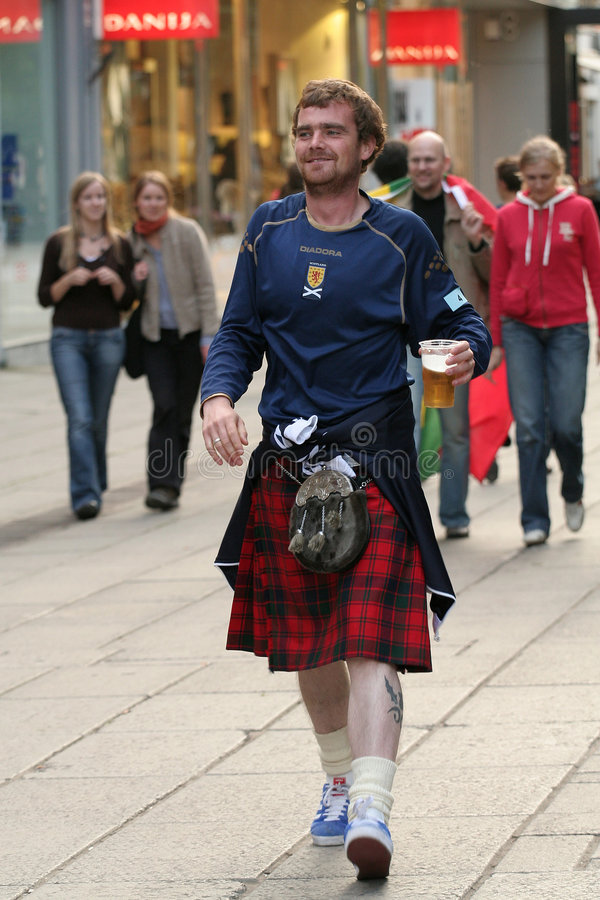 Scotsmen imagem de stock