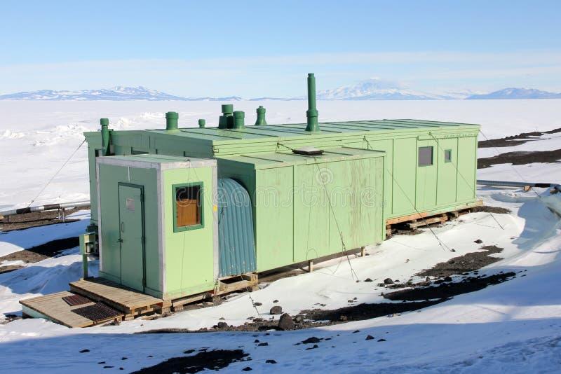Scott Base, Ross Island, a Antártica imagens de stock royalty free