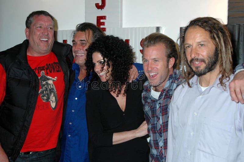 Scott Caan, Steve Jones, Steve Olson, Alva élégant, Scott Caan photo libre de droits