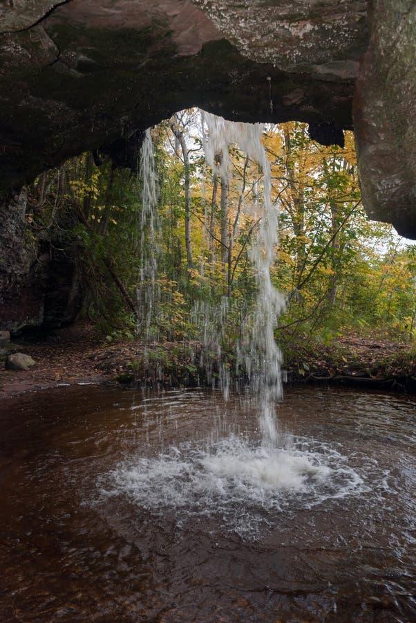 Scott cai, Allegan County, Michigan, EUA imagem de stock