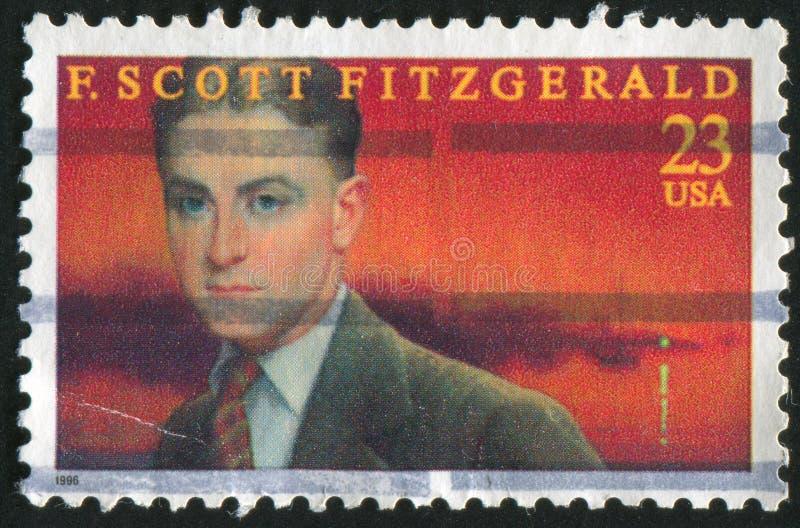 Scott Fitzgerald foto de stock