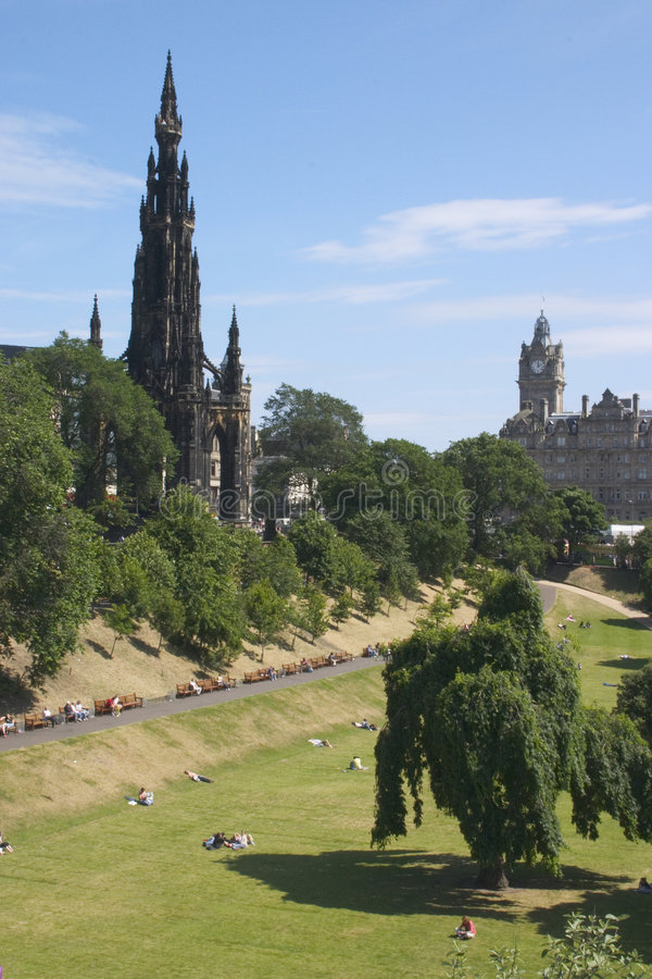 Download Scott Monument 1 Stock Photography - Image: 199572