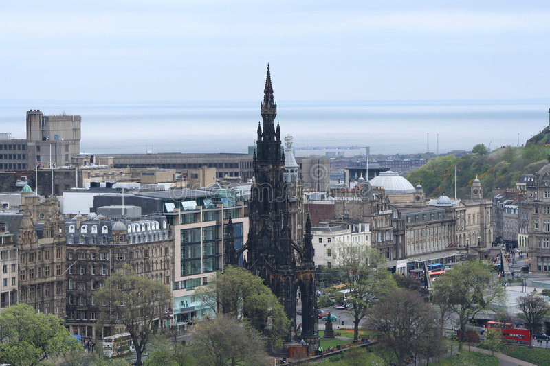 Download Scott Monument Stock Images - Image: 2308204
