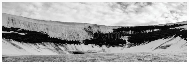 Scott Turnerbreen lodowiec, Svalbard zdjęcie royalty free