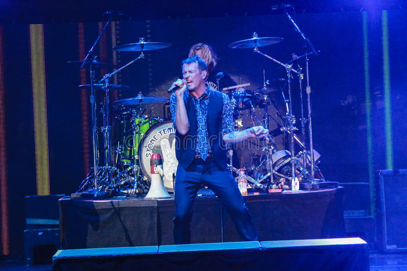 Scott Weiland Stone Temple Pilots immagine stock