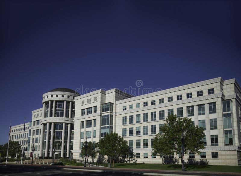 Scotte Matheson gerechtsgebouw, het Hof van de Staat van Utah stock afbeeldingen