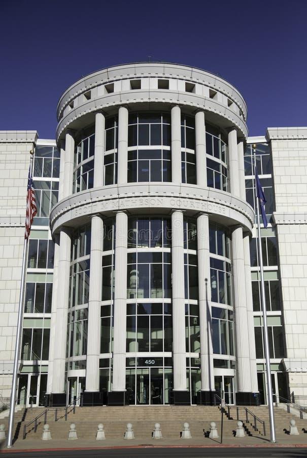Scotte Matheson gerechtsgebouw, het Hof van de Staat van Utah stock foto