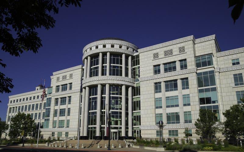 Scotte Matheson gerechtsgebouw, het Hof van de Staat van Utah royalty-vrije stock foto's