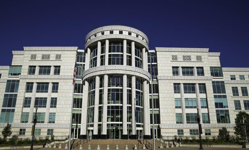 Scotte Matheson gerechtsgebouw, het Hof van de Staat van Utah royalty-vrije stock afbeelding