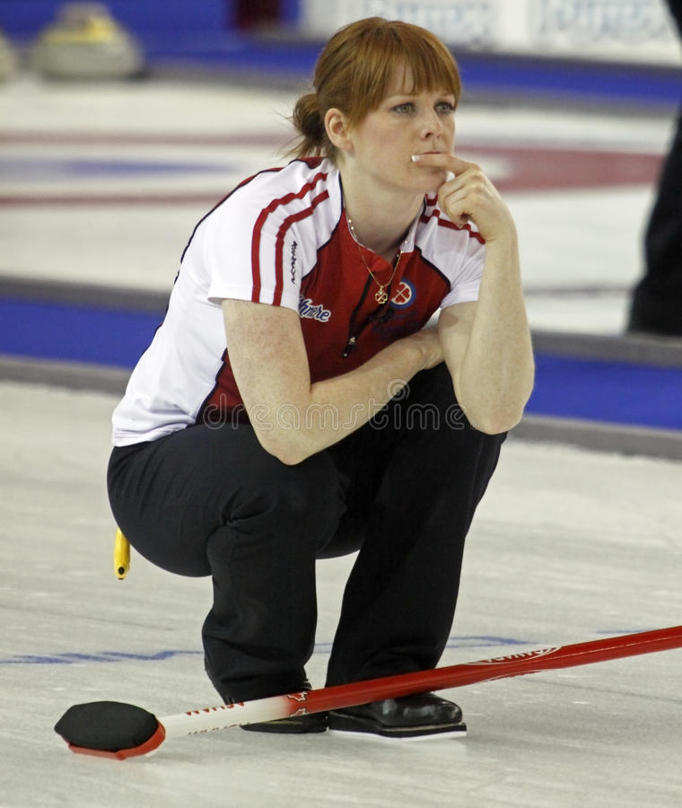 Scotties Curling Askin Editorial Stock Image