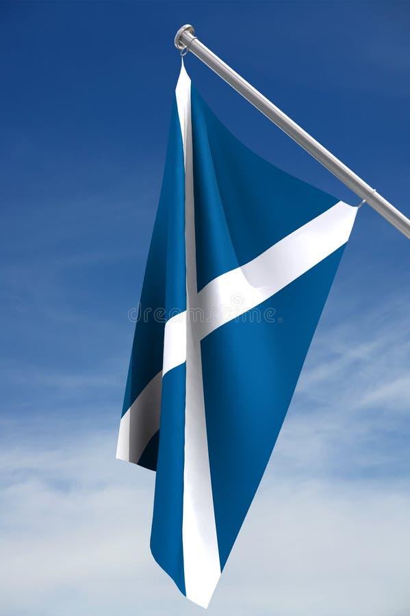 scottish флага бесплатная иллюстрация