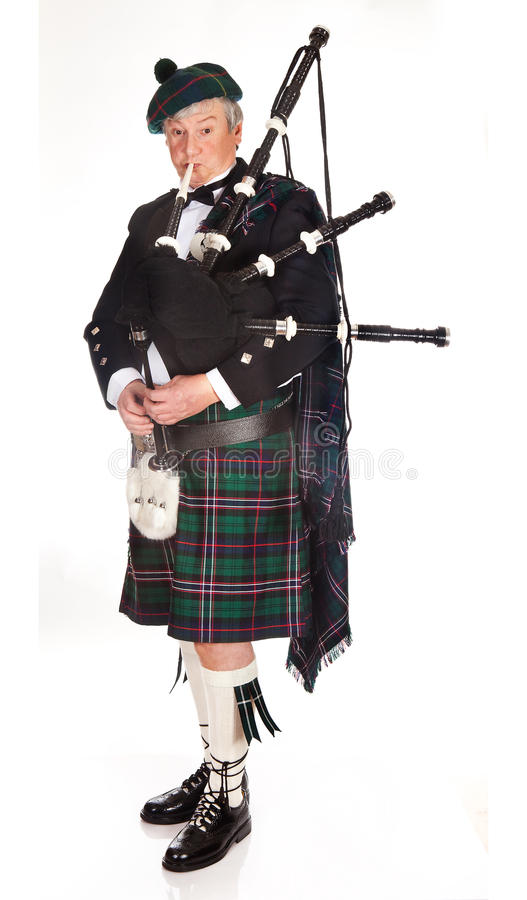 Download Scottish bagpipes stock photo. Image of kilt, highlands - 12665718