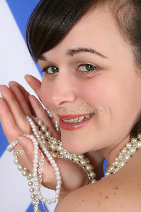 Download Scottish beauty stock photo. Image of girl, attractive - 16505428