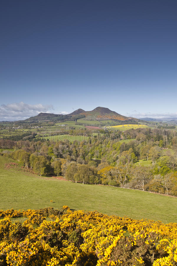 Download Scottish Borders stock image. Image of clouds, scot, walter - 27865659