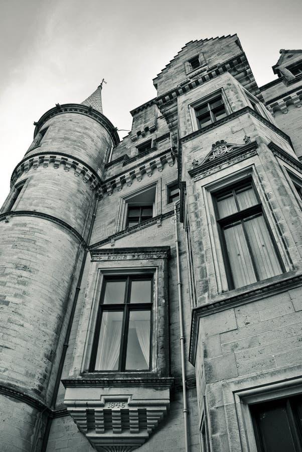 Scottish castle royalty free stock photos