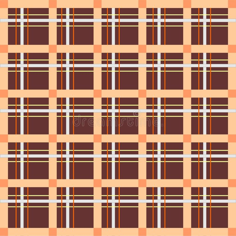 Scottish cell, seamless, pattern stock photography