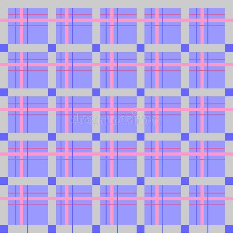 Scottish cell, seamless, vector pattern royalty free stock photo