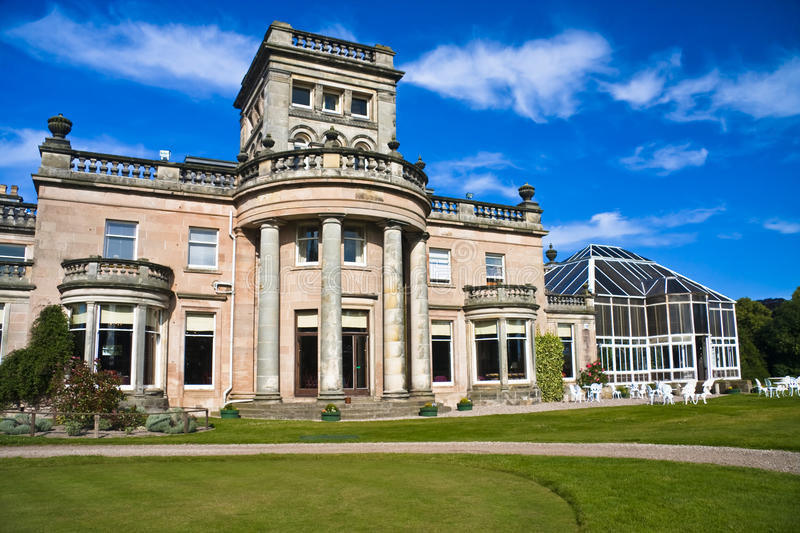 Download Scottish country home stock photo. Image of architecture - 10888222