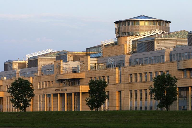 Scottish Executive Building Edinburgh. The Scottish Executive Building in Leith, Edinburgh royalty free stock photo