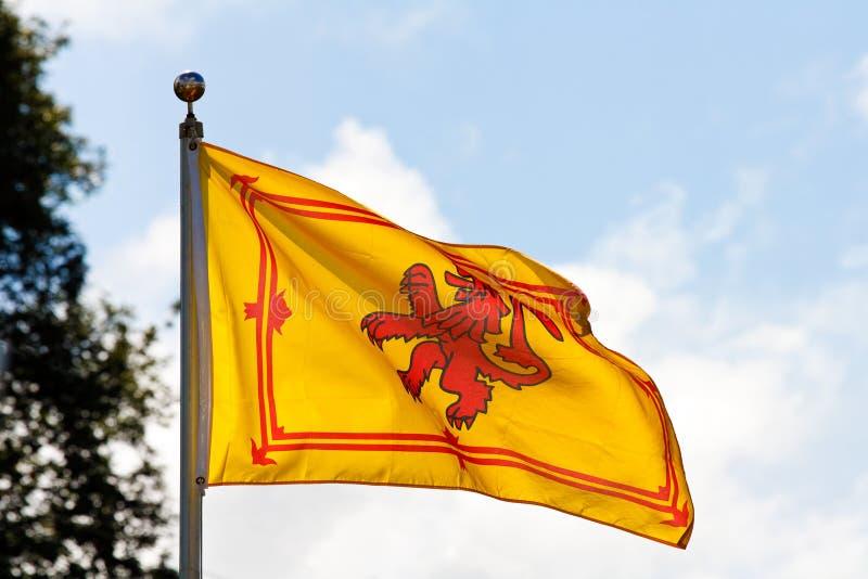 Scottish flag the Rampant Lion