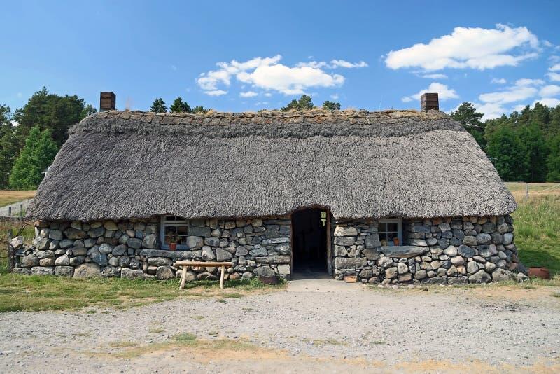 Download Scottish Highland Cottage Stock Photo Image Of Stonework