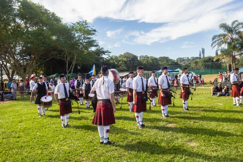 Scottish Highland Gathering royalty free stock photo