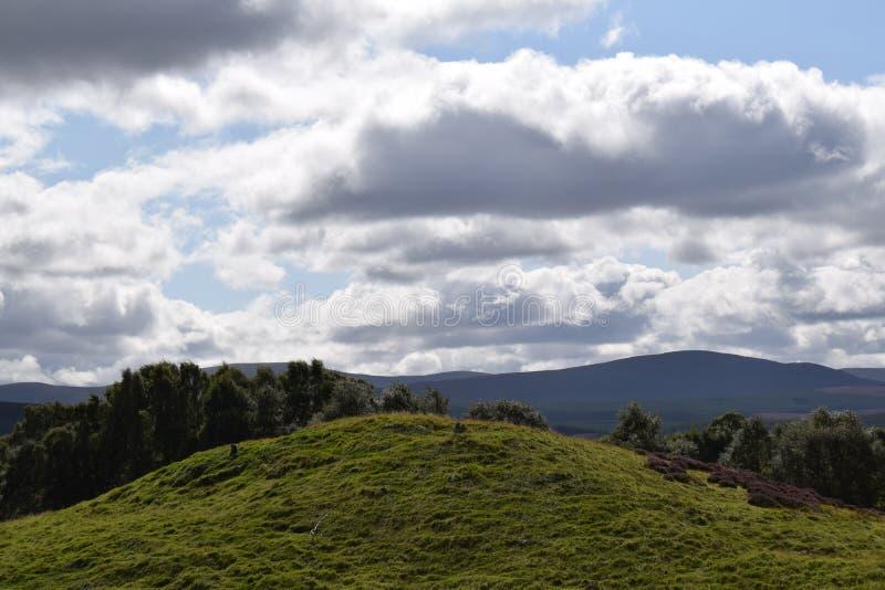 Scottish Highlands stock image