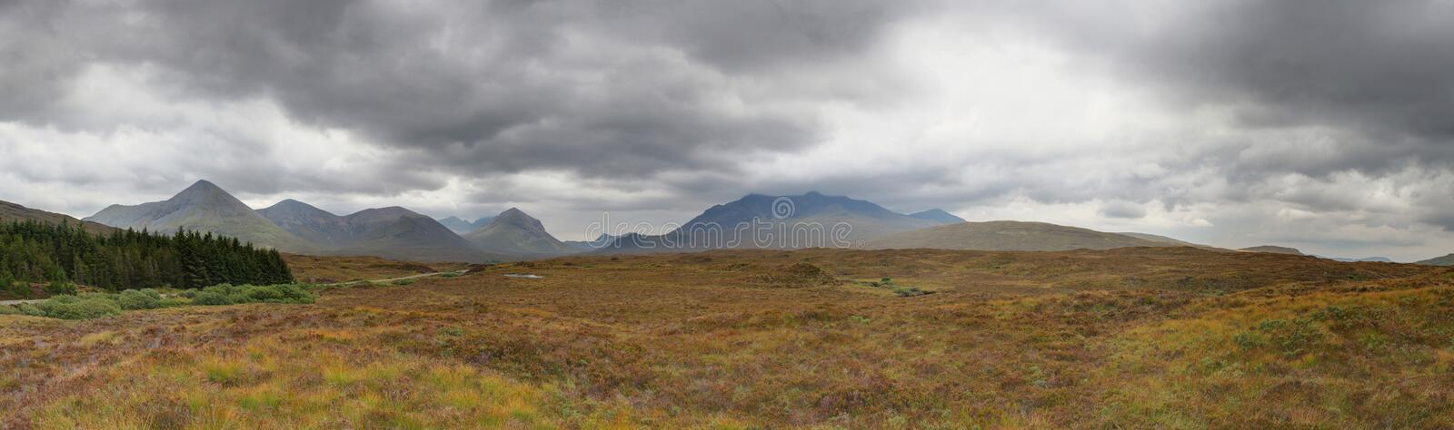 Scottish landscape stock image