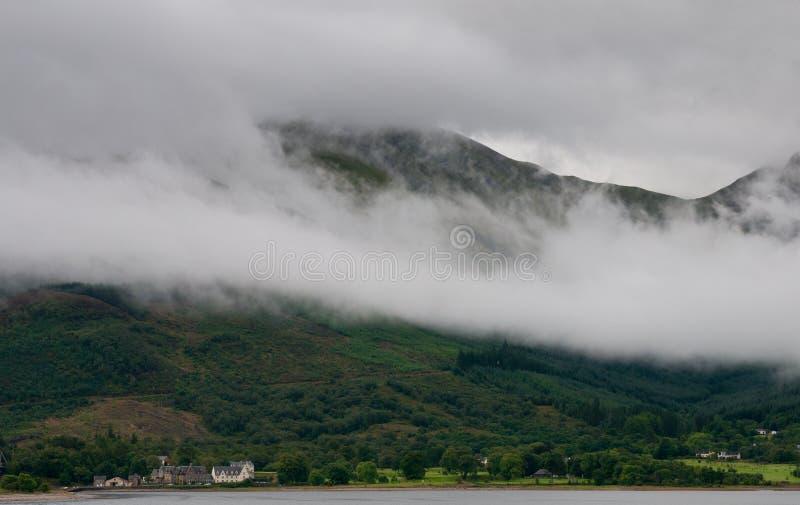 Scottish landscape, Scotland Highlands royalty free stock photos
